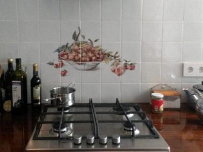 Kat in de keuken